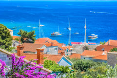 verão na cidade mediterrânea Bol Fotografia de Stock Royalty Free