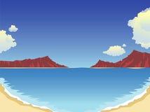Verão na praia Foto de Stock Royalty Free