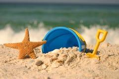 Verão na praia Fotos de Stock Royalty Free