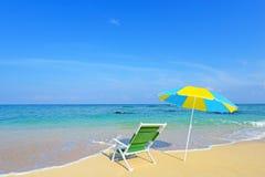 verão na praia Fotografia de Stock Royalty Free