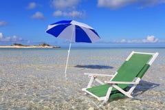 verão na praia Fotos de Stock