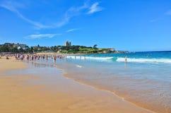 verão na praia de Bondi Foto de Stock