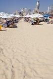 verão na praia em Telavive Imagens de Stock