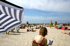 Verão na praia III fotos de stock royalty free