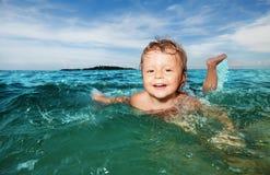 Verão, natação, férias, miúdo Fotos de Stock