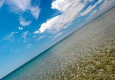 Verão no beira-mar Fotos de Stock Royalty Free
