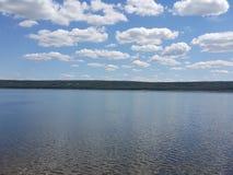 verão no lago Imagem de Stock Royalty Free