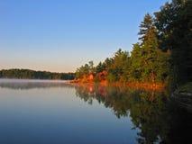 Verão no lago Jack Imagens de Stock