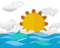 verão no mar Fotos de Stock Royalty Free