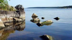 verão no rio Fotos de Stock
