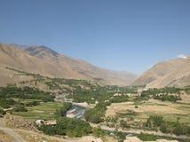 verão no vale de Panjshir Fotografia de Stock