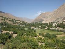 verão no vale de Panjshir, Afeganistão Imagem de Stock