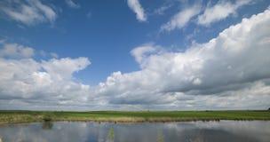 verão pelo lago Foto de Stock Royalty Free