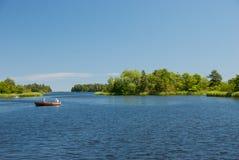 Verão pelo mar Báltico em Sweden Imagens de Stock