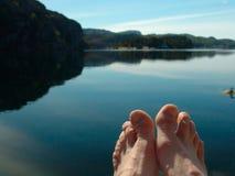 Verão pelo oceano Foto de Stock Royalty Free