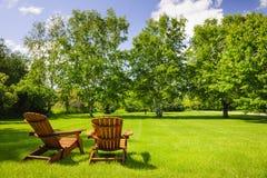 verão que relaxa Imagens de Stock Royalty Free