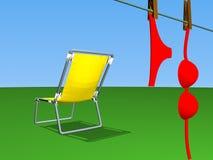 Verão quente ilustração stock