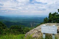 verão - Shenandoah Valley Foto de Stock