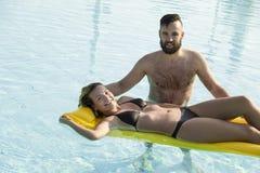 verão, sol e amor Fotos de Stock Royalty Free