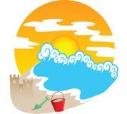 Verão Theme2 Imagens de Stock