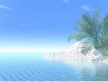 Verão tropical ilustração royalty free