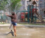 Verão urbano Imagens de Stock