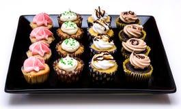 Veränderung der kleinen Kuchen drei Lizenzfreie Stockfotografie