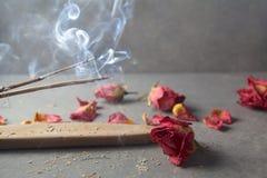 Verärgern Sie Steuerknüppel aromatherapy lizenzfreies stockfoto