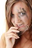 Verärgerte dengerous Prinzessin Lizenzfreies Stockfoto