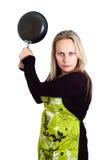 Verärgerte Frau Lizenzfreie Stockfotografie
