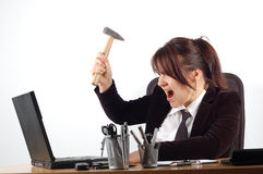 Verärgerte Frau #7 Stockfoto