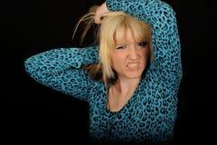 Verärgerte Frau Lizenzfreie Stockfotos