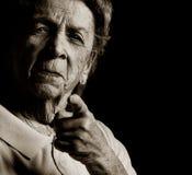 Verärgerte Großmutter stockbilder
