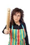 Verärgerte Hausfrau Stockfotos