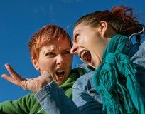 Verärgerte Mädchen Stockfotos