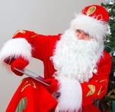 Verärgerte Santa Claus stockfotografie