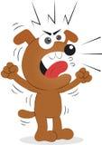 Verärgerter Hund Lizenzfreies Stockbild