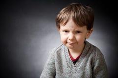 Verärgerter Junge Lizenzfreie Stockfotografie