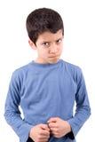 Verärgerter Junge stockbilder