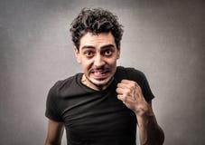 Verärgerter Mann Lizenzfreies Stockfoto