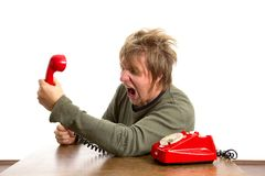 Telefonanruf Stockfotos