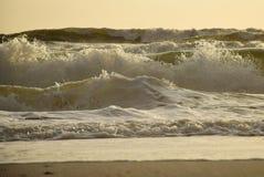 Verärgerter Morgen-Ozean Stockfotografie