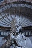 Verärgerter Papst Stockbilder