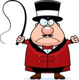 Verärgerter Ringmaster Lizenzfreies Stockfoto