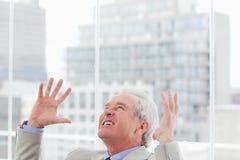 Verärgerter Senior Manager Stockbilder
