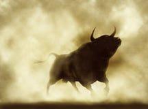 Verärgerter Stier Lizenzfreies Stockfoto