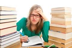 Verärgerter Student Lizenzfreies Stockfoto