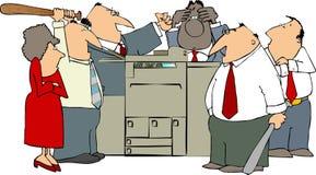 Verärgertes Büro Lizenzfreie Stockbilder