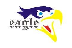 Verärgertes Eagle Stockfoto