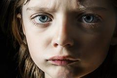 Verärgertes Kind Stockfoto